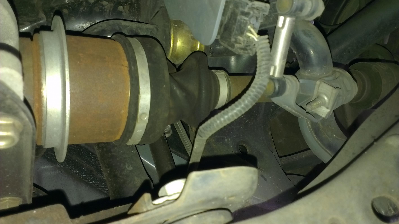 Mazda 6 MPS Strange Rear diff issue